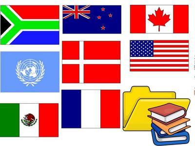 Lapalisse une exposition des drapeaux du monde entier est en place